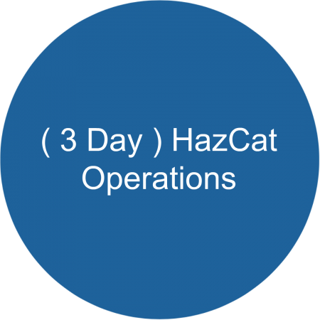 ( 3 Day ) HazCat -Operations