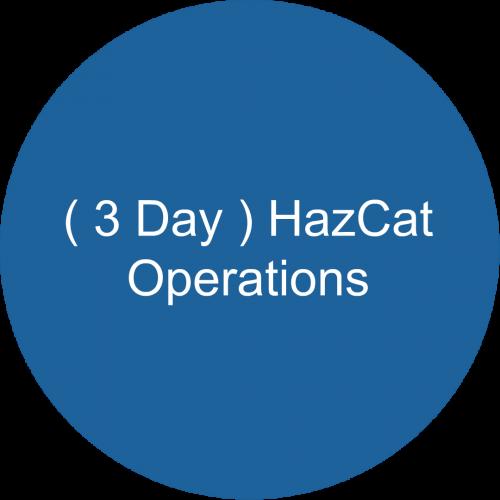 ( 3 Day ) HazCat -Operations