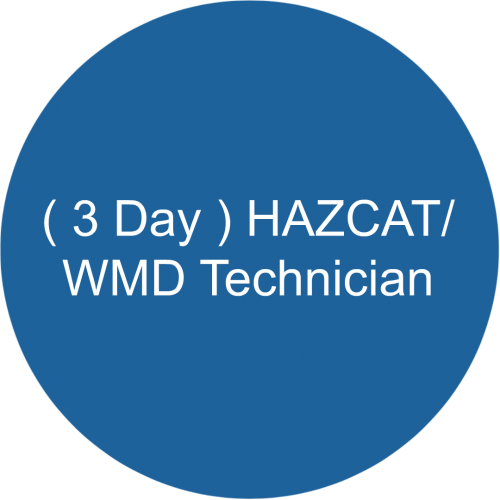 ( 3 Day ) HAZCAT/WMD Technician