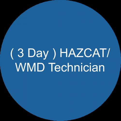 ( 3 Day ) HAZCAT/WMD Technician
